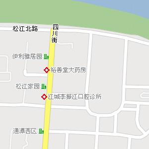 吉林市昌邑区延江街道地图