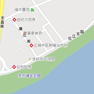 吉林市昌邑区东局子街道地图