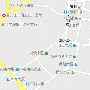 哈尔滨市香坊区六顺街道地图
