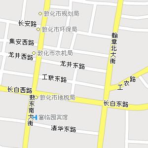 吉林延边敦化地图,吉林敦化电子地图