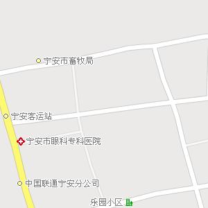 黑龙江牡丹江宁安地图,黑龙江