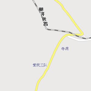 延边州龙井市开山屯镇地图