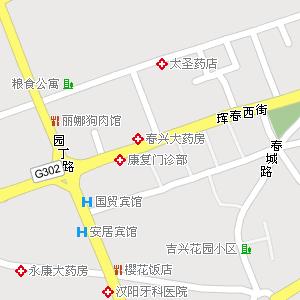 吉林省延边州珲春市地图,珲春