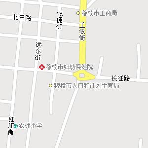 黑龙江省牡丹江市穆棱市公路电子地图