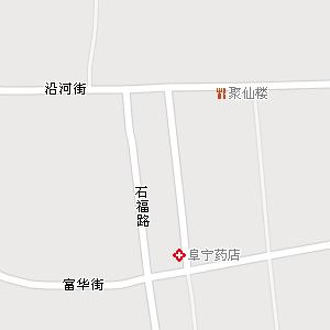 阜宁镇市区(城区)地图