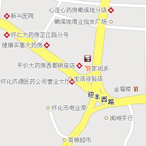 鹤城樟坑尾村地图