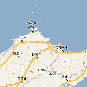 山东大学威海分校手绘地图