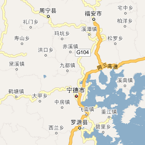 蕉城区地图_持治_新浪博客