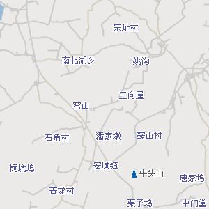 安吉附近地图