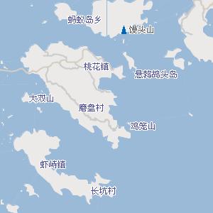 舟山普陀山朱家尖机场附近地图