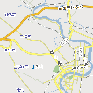 昌邑公安分局附近地图
