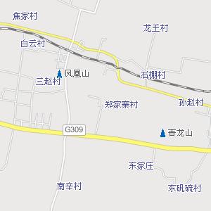 济南章丘汽车站附近地图