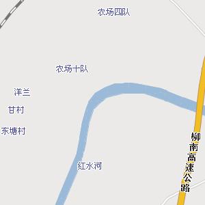 广西来宾象州地图