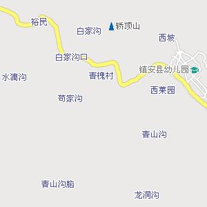 安康到湖北地图