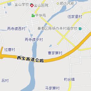 咸阳城区电子地图,咸阳城区地图