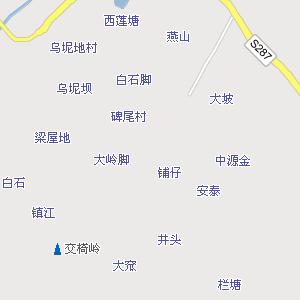 廉江城区街道地图