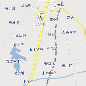 廉江市地图_广东湛江廉江交通