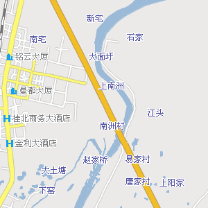 桂林市及周边地图