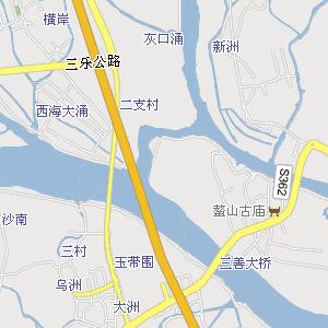 钱岗古村附近地图