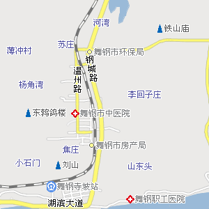平顶山市郏县地图