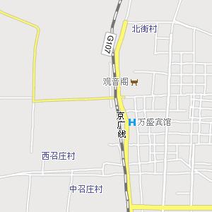 永年城区街道地图