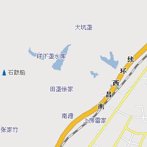 南昌理工学院手绘地图