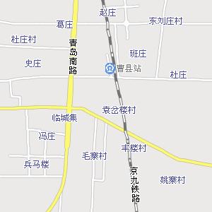 菏泽曹县地图