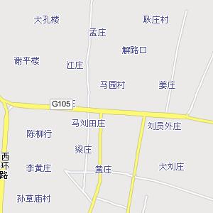 菏泽市区地图_山东菏泽市区地图