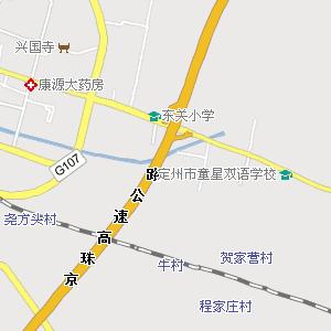 定州市区地图_定州蔚县地图已回答