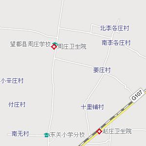 保定到唐县地图