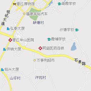 厦门到晋江地图