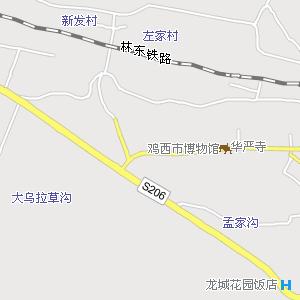 牡丹江到东宁地图