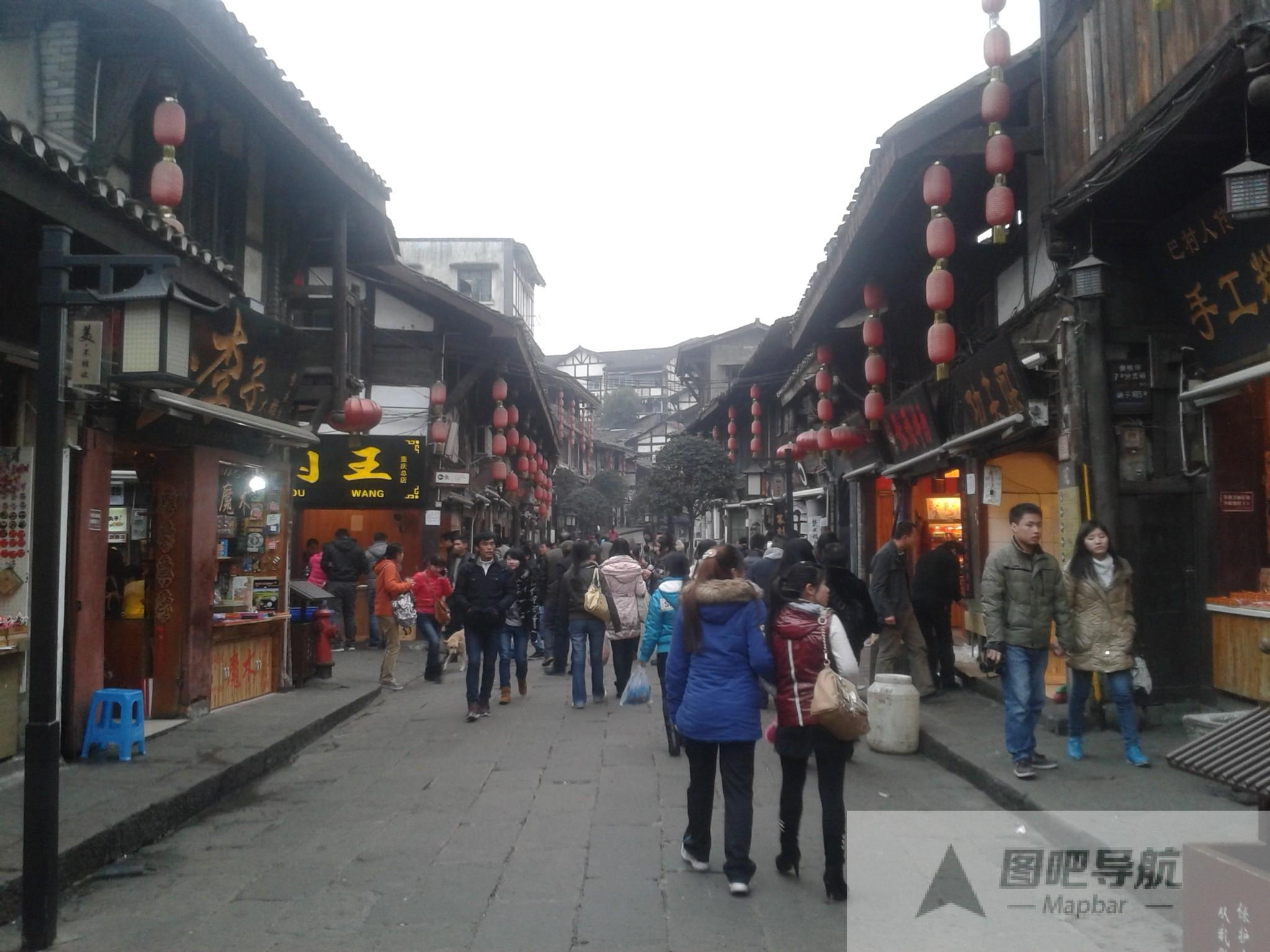 重庆地图旅游景点地图展示