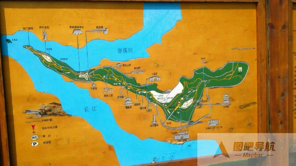 重庆市旅游地图_重庆市旅游景点地图