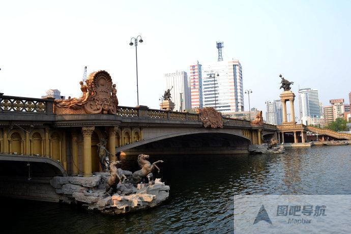 天津市旅游景点地图
