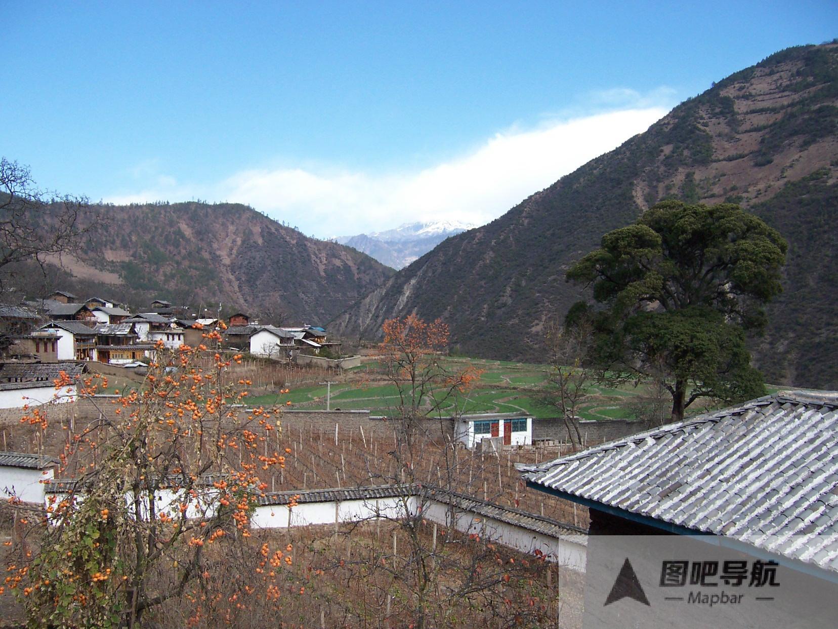 迪庆藏族自治州旅游景点地图