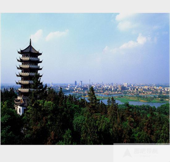 安徽蚌埠旅游景点:张公山公园景区