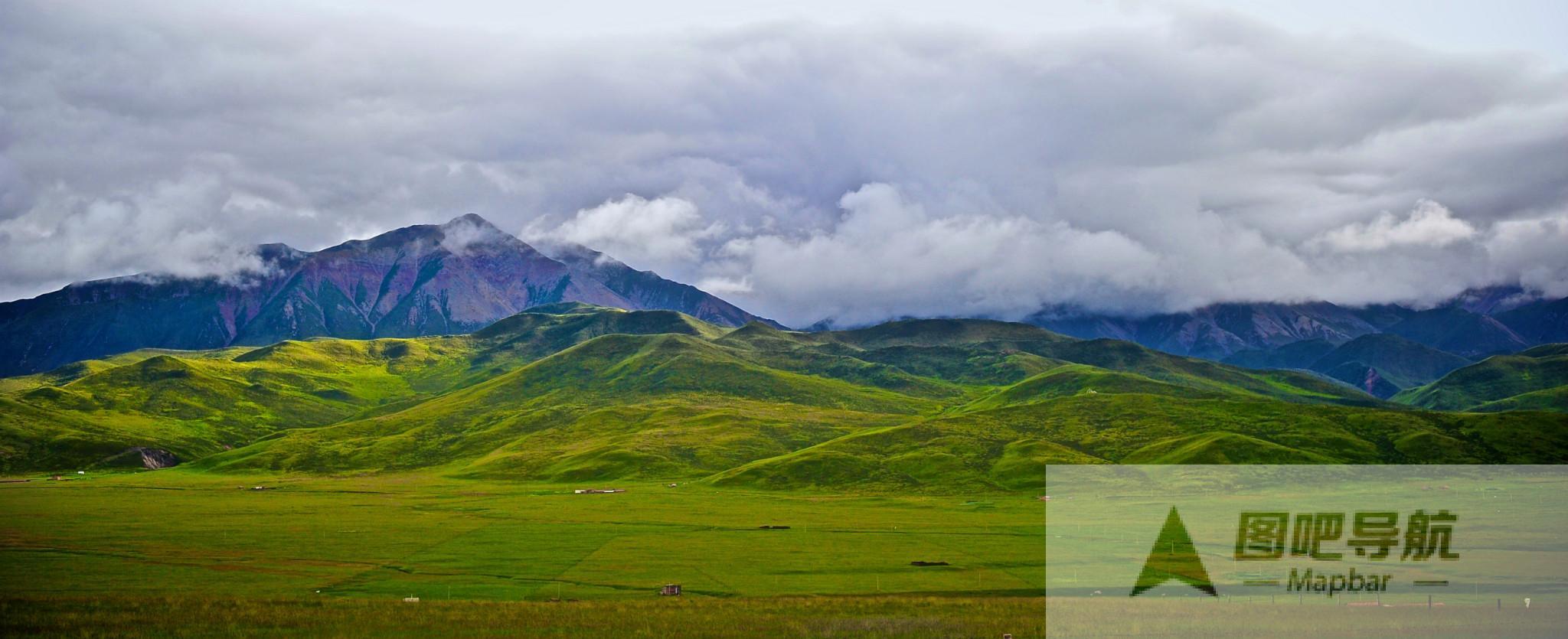 海北藏族自治州旅游景点地图