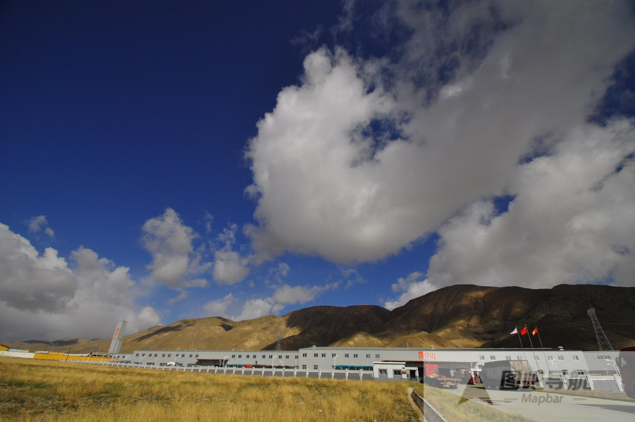海西蒙古族藏族自治州旅游地图
