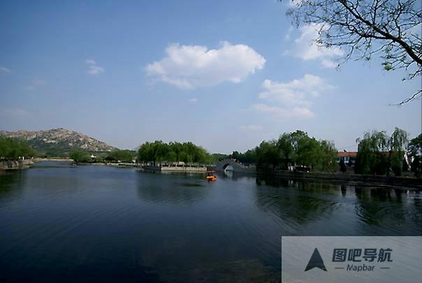 济宁市旅游景点地图