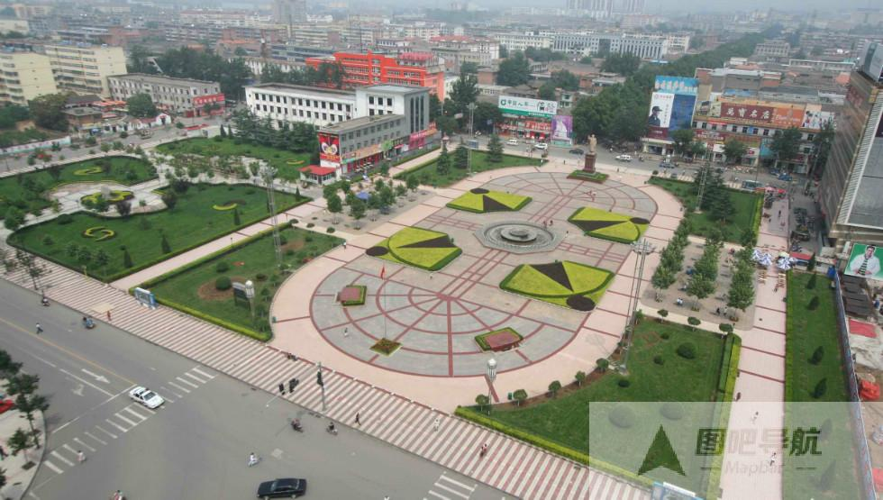 晋城市旅游景点地图
