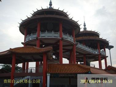 贵阳市旅游景点地图