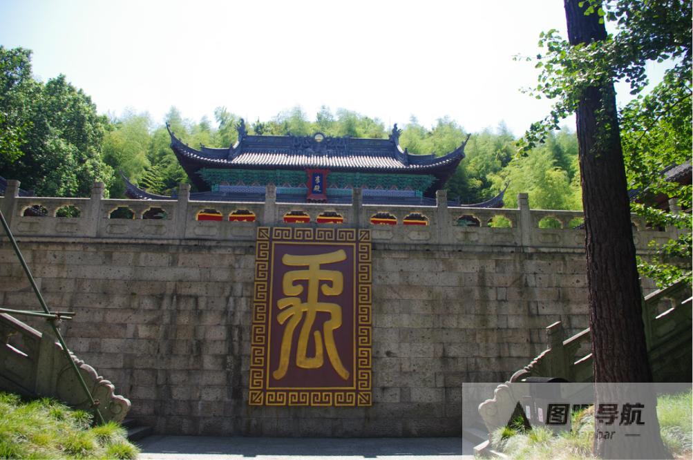 绍兴市旅游景点地图