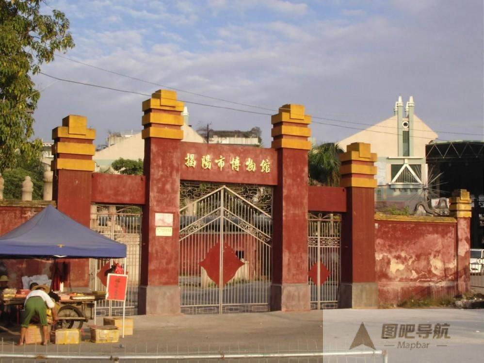 揭阳市旅游地图_揭阳市旅游景点地图