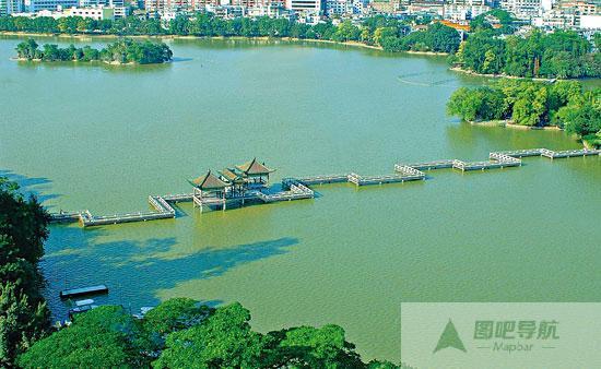 地图 惠州市/惠州九曲桥