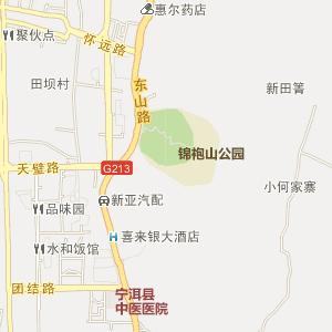 普洱宁洱电子地图_中国电子地图网