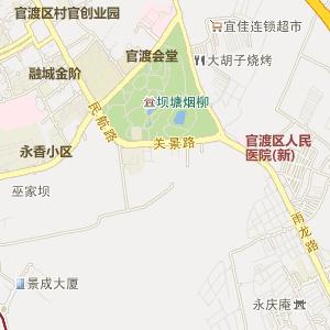 昆明官渡电子地图_中国电子地图网