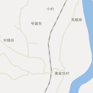 德昌县银鹿乡电子地图