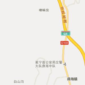 冕宁彝海电子地图_中国电子地图网
