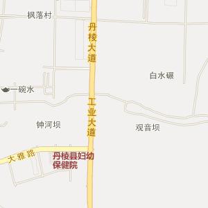 眉山丹棱电子地图_中国电子地图网